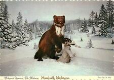 Wolverine Marshall Michigan MI Postcard