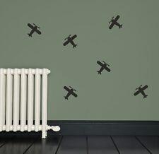 Plane Aeroplane Wall Stickers Vinyl Decals Bedroom PG61