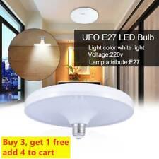 New 20W 40W 60W 80W Super Bright 220V Energy Saving UFO Bulb E27 LED Light