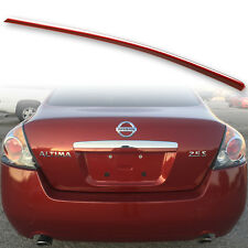 Fyralip Trunk Lip Spoiler For Nissan Altima L32 07-12 Painted New Red NAC