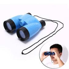 plastic kid children magnification toy binocular telescope + neck tie strapHFFS