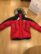 BNWT Men's Polo Ralph Lauren Sport Trail Down Parka Jacket Red Size S RRP 599 £