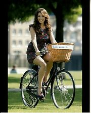 KELLY BROOK hand-signed SEXY LEGS RIDING BICYCLE 8x10 authentic w/ LIFETIME COA