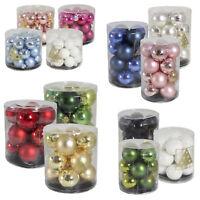 Glitter Christmas Baubles Xmas Tree Ornament Ball Christmas Decor 30/40/60/HDJ