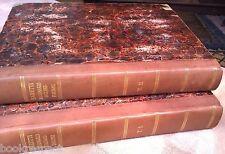 DIZIONARIO Italiano Inglese 1828 BARETTI 1st Leghorn Edition Hc LEATHER 2 books