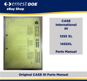 CASE IH 1255XL & 1455XL Parts Manual   Original Manual   B020
