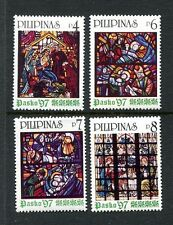 Philippines 2499-2502, MNH. Christmas 1997 - Featuring Stained-Glass Windows