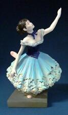 Green Dancer Sculpture by Degas Ballerina Statue Ornament Figure