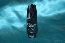 Bari Infinity Hard Rubber Alto Sax Mouthpiece,.082 Facing, Ligature,Cap, INHRAS7
