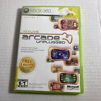 Xbox Live Arcade Unplugged Vol. 1 (Microsoft Xbox 360) - Video Game Free Ship
