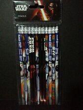 Star Wars Pencil Set Wood Star Wars The Force Awakens Pencils Lapiz de Star Wars