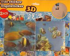Tile Sticker 3D 2pcs Bathroom Kids