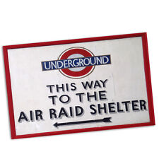 "Two This Way To The Air Raid Shelter 11x17"" Reproduction Wall Posters"