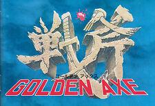 Incorniciato Sega Master System Gioco stampa -- GOLDEN AXE schermata principale (ARCADE CLASSIC)