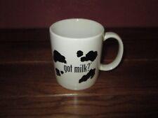 got milk? Ceramic Coffee Mug Cup with Cow Spots