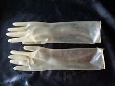 Latex Gummi Handschuhe völlig glatt Transparent