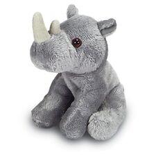 14cm Rhino Soft Toy - Cute Small Soft Toy Animal - 0+ Years - Birthday Gift