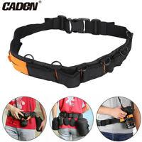 Caden Multifunctional Nylon Camera Waist Belt Tripod Lens Pouch Bag Strap CO