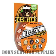GORILLA CLEAR WATERPROOF SEALING & REPAIR TAPE - Tent Paddling Pool Inflatable