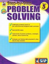 Step-by-Step Problem Solving, Grade 5 Singapore Math