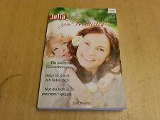 Julia Saison Zum Muttertag, Band 36, 3 Romane, 1x gelesen.
