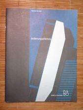 Bedienungsanleitung Bang&Olufsen BeoVision MX 4200,ORIG