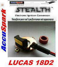 TRIUMPH T120 1959–1975 Kit de ignición electrónica 18D2 reemplaza a LU425219 puntos