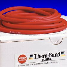 Thera-band Red Tube By The Foot Theraband Resistance Band Yoga AUTHENTIC