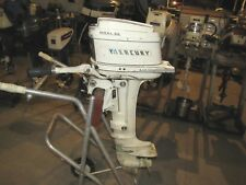 1964 KIEKHAEFER 60 6HP SHORT SHAFT TILLER OUTBOARD MOTOR RUNS PUMPS SHIFTS