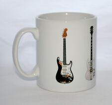 Jimi Hendrix Guitar Mug. 5 Famous Guitars