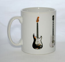 Jimi Hendrix Guitare Tasse 5 célèbres guitares