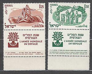 Israel - Correo 1960 Yvert 174/5 ** Mnh  Refugiados