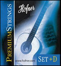 Gitarrensaiten Höfner Premium Strings + zusätzlicher D-Saite Saiten für Classic