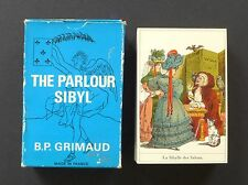 Vintage The Parlour Sibyl Fortune Telling Oracle Cards Deck Grimaud 1970