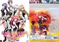 DVD ANIME Rakudai Kishi No Cavalry Vol.1-12 End All Region Eng Subs + FREE SHIP
