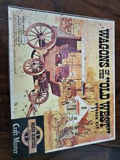 wagons of the old west model kit by craft masters