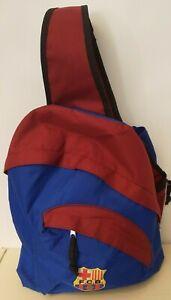 Over One Shoulder Barcelona Footbal Club Sports Kit Bag Rucksack