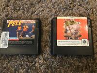 Sega Genesis Sports Game Lot (2 Games) Hardball! Baseball and Pele! Soccer
