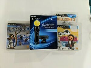Official Sony PlayStation Move Essentials Pack NEW  With 3 Games