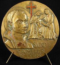 Médaille Saint Camille de Lellis ordre des Camilliens protecteur Hôpital Medal