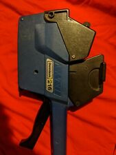 Dennison 216 blue tag label price gun - great for garage sales