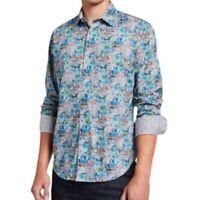 Robert Graham Men's NWT Sz L Clanton Abstract Dress Shirt  Classic Fit Colorful