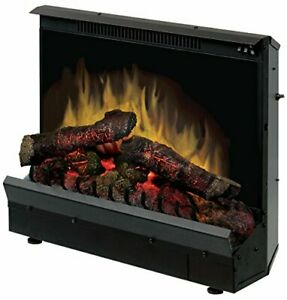 """Dimplex Deluxe 23"""" Electric Fireplace Insert Model DFI2310 120V 1375W 12.5 Am..."""