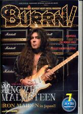 BURRN! Magazine Japan No. 7 / 2016 IRON MAIDEN, MALMSTEEN