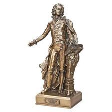 Wolfgang Amadeus Mozart Great Composer Bronze Finish Sculpture