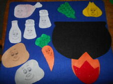 Stone Soup Felt set for the Story Board