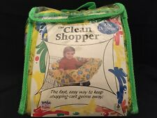 The Clean Shopper by Babe - Shopping Cart Cover Yellow Zoo Animals