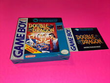 Double Dragon Gameboy  - Original Cardboard box And Manual only