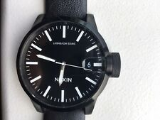 Nixon The Chronicle Black Watch Men Original Packaging Great Condition