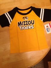 "New Missouri Tigers ""Mizzou"" Mariner T-Shirt 3-6 Months"